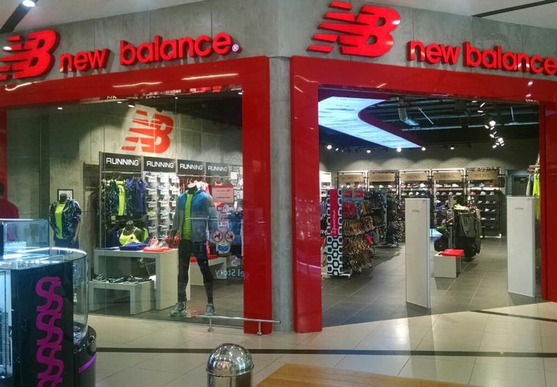 В запорожском ТРК City Mall открылся магазин New Balance  76d0c253c30bf