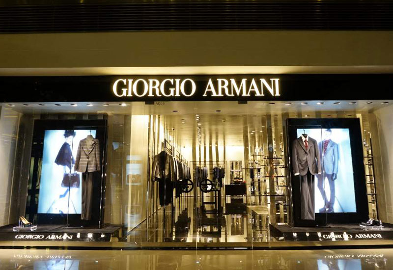 company and market analysis for giorgio armani Giorgio armani restructures brands  distribution and marketing strategy  just four years after founding his company and his signature borgonuovo label.