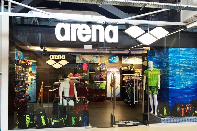5ceb2892f06ff Мультибрендовый магазин Arena Swim Run Live открылся в ТРЦ New Way ...