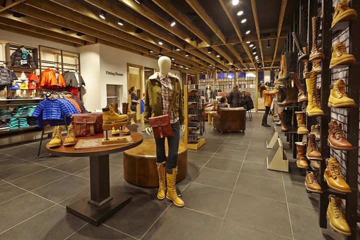 Pies suaves erosión Disparo  Американский бренд Timberland открыл магазин в Lavina Mall | TradeMaster