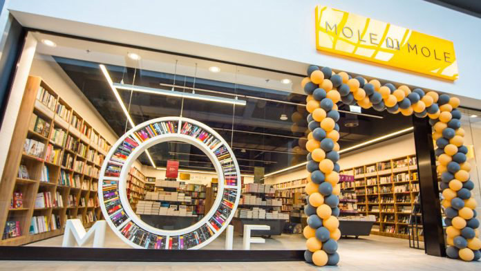 Польская группа Empik делает ставку на новую сеть книжных магазинов Mole  Mole 24da04a645824