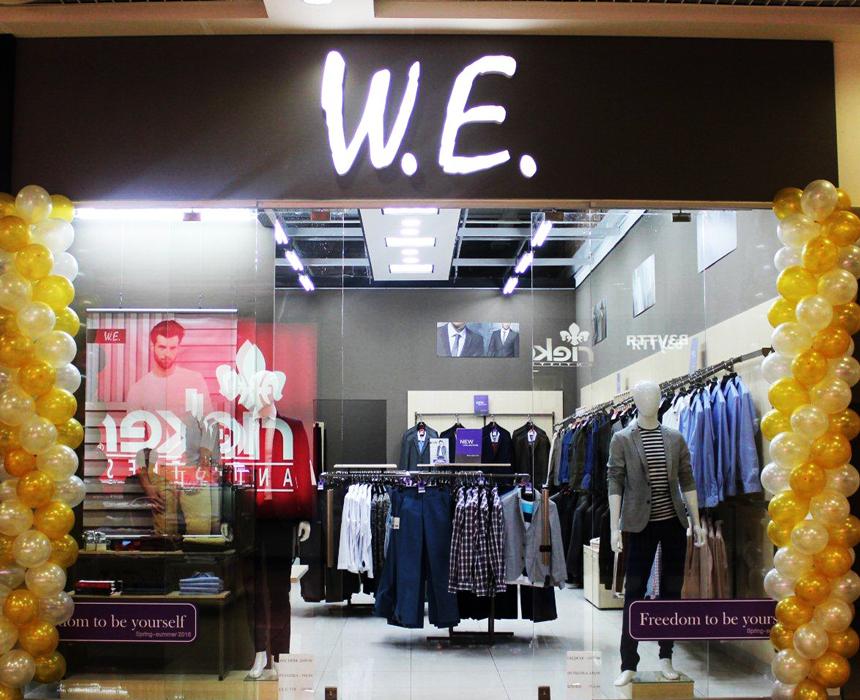 7f33a9778fb85 Магазин бренда мужской одежды W.E. открылся в ТРЦ Караван Днепропетровска