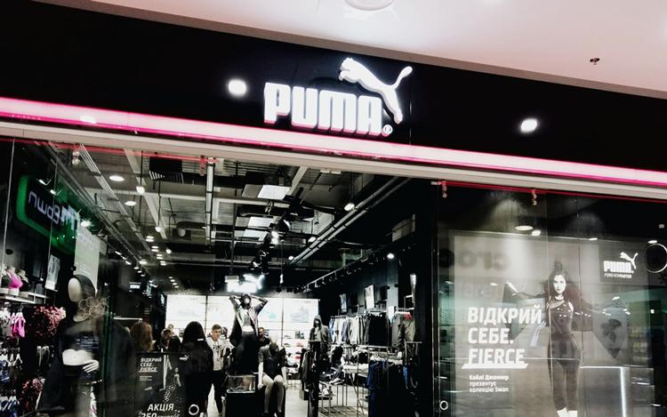 Бренд PUMA открыл магазин в новом концепте FOREVER FASTER в Gulliver ... 05fe9e7ff86